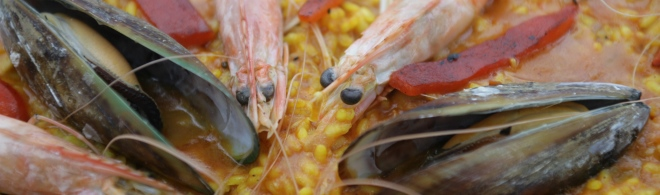 Authentic Spanish Paella - Cooked fresh for you!